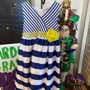 Nannette Girl Striped Dress size 5